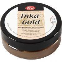 Inka Gold- Vahaväri, brown gold, 50 ml/ 1 tb