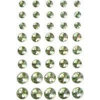Akryylitimantit, koko 6+8+10 mm, vihreä, 40 kpl/ 1 pkk