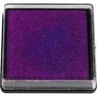 Leimasintyyny, koko 40x40 mm, violetti, 1 kpl