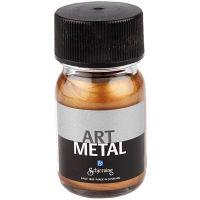 Askartelumaali metallic, antiikkikullan väris, 30 ml/ 1 pll