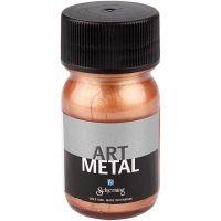 Askartelumaali metallic, kuparin, 30 ml/ 1 pll