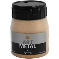 Askartelumaali metallic, medium kulta, 250 ml/ 1 pll