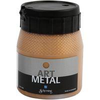 Askartelumaali metallic, tumma kulta, 250 ml/ 1 pll