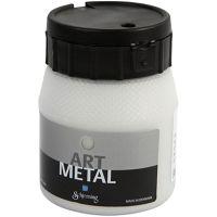 Askartelumaali metallic, hopea, 250 ml/ 1 pll