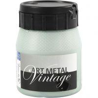 Askartelumaali metallic, Helmiäisvihreä , 250 ml/ 1 pll