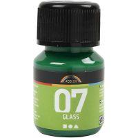 A-Color Lasimaali, briljantinvihr, 30 ml/ 1 pll