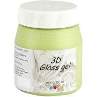 3D lasigeeli, vaaleanvihreä, 250 ml/ 1 tb