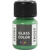Glas Color Frost huurremaali, vihreä, 30 ml/ 1 pll