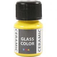 Glass Ceramic, sitruunankelt, 35 ml/ 1 pll