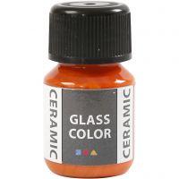 Glass Ceramic, oranssi, 35 ml/ 1 pll