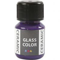 Glass Ceramic, violet, 35 ml/ 1 pll