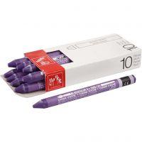 Caran d'Ache Neocolor II, Pit. 10 cm, violet (120), 10 kpl/ 1 pkk