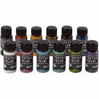 Textile Color, värilajitelma, 12x50 ml/ 1 pkk