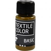 Textile Color, oliivinruskea, 50 ml/ 1 pll