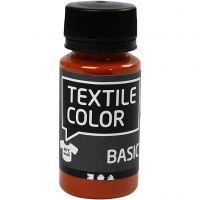 Textile Color, tiilenpun., 50 ml/ 1 pll