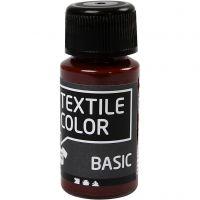 Textile Color, ruskea, 50 ml/ 1 pll