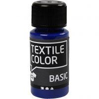 Textile Color, perussininen, 50 ml/ 1 pll