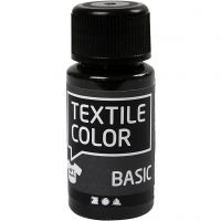 Textile Color, musta, 50 ml/ 1 pll