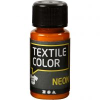 Textile Color, neonoranssi, 50 ml/ 1 pll
