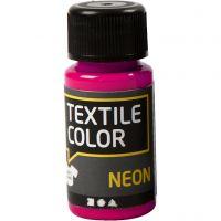 Textile Color, neonpinkki, 50 ml/ 1 pll