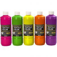Textile Color, värilajitelma, 5x500 ml/ 1 pkk