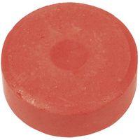 Vesivärinapit, Kork. 19 mm, halk. 57 mm, punainen, 6 kpl/ 1 pkk