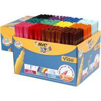 Visa Fin tussit , paksuus 1,6 mm, värilajitelma, 12x24 kpl/ 1 pkk