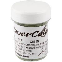 Pavercolor, vihreä, 40 ml/ 1 pll