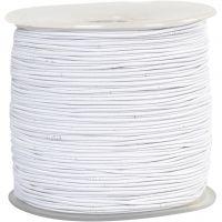 Kumilanka, paksuus 1 mm, valkoinen, 250 m/ 1 rll