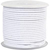 Kumilanka, paksuus 2 mm, valkoinen, 25 m/ 1 rll