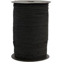 Kumilanka, paksuus 2 mm, musta, 250 m/ 1 rll
