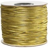 Joustolanka, paksuus 1 mm, kulta, 100 m/ 1 rll