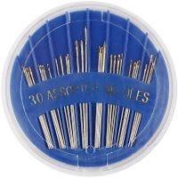 Silmäneulat, nro 3-7, Pit. 35-45 mm, 30 kpl/ 1 pkk