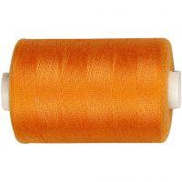 Ompelulanka, oranssi, 1000 m/ 1 rll