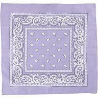 Bandana, koko 55x55 cm, violetti, 1 kpl