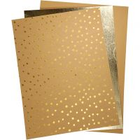 Nahkapaperi, 21x27,5+21x28,5+21x29,5 cm, paksuus 0,55 mm, yksi värillinen,folio,tulosta, 3 ark/ 1 pkk