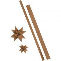 Paperitähtisuikaleet, Pit. 44+78 cm, Lev: 15+25 mm, 350 g, luonnonrusk., 24 suikaleet/ 1 pkk