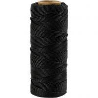 Bambulanka, paksuus 1 mm, musta, 65 m/ 1 rll