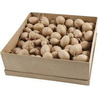 Pahvimunat, Kork. 3-4-5-6 cm, 140 kpl/ 1 pkk