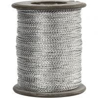 Hopeanyöri, paksuus 0,5 mm, hopea, 100 m/ 1 rll