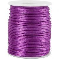 Satiininyöri, paksuus 2 mm, violetti, 50 m/ 1 rll