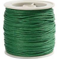 Puuvillanyöri, paksuus 1 mm, vihreä, 40 m/ 1 rll