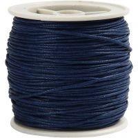 Puuvillanyöri, paksuus 1 mm, sininen, 40 m/ 1 rll