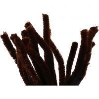 Askartelupunokset, Pit. 30 cm, paksuus 15 mm, ruskea, 15 kpl/ 1 pkk