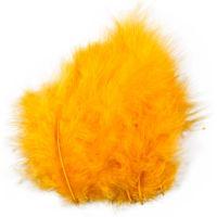 Höyhenet, koko 5-12 cm, keltainen, 15 kpl/ 1 pkk