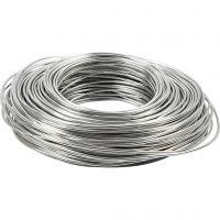 Alumiinilanka, paksuus 2,5 mm, hopea, 75 m/ 1 rll