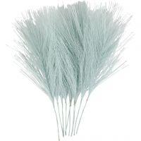 Keinotekoiset höyhenet, Pit. 15 cm, Lev: 8 cm, vaaleansininen, 10 kpl/ 1 pkk