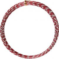 Alumiinilanka, timanttileikattu, paksuus 2 mm, punainen, 7 m/ 1 rll