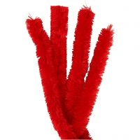 Askartelupunokset, Pit. 40 cm, paksuus 30 mm, punainen, 4 kpl/ 1 pkk