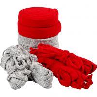 Kudosputki, Lev: 10-40 mm, Lajitelman sisältö voi vaihdella , harmaa, punainen, 50 m/ 1 pkk